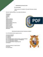 Universidades Estatales de Lima