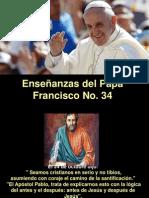 Enseñanzas del Papa Francisco - Nº 34