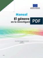 El Genero en La Investigacion