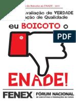 2 Cartilha Do Boicote Ao Enade 2011 Fenex