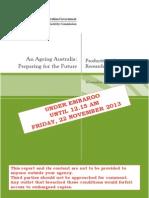 An Ageing Australia
