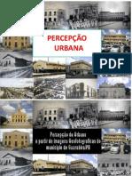 PERCEPÇÃO  URBANA-ATUAL
