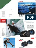 Catalogo Canon2012