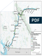 Trans Mountain Pipeline System Map