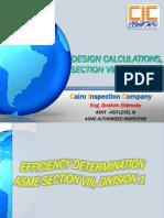 ASME VIII Div. 1- 2 Joint Efficiency