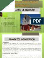 Proyectos de Inversion..