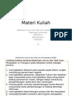 Ketentuan Umum dan Tata Cara Perpajakan (KUP)