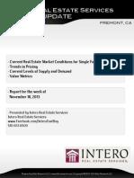 Fremont Full Market Report (Week of November 18, 2013)