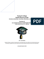 Scholarships Student Resource Guide 2013