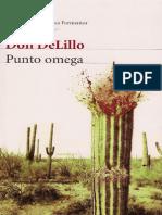 De Lillo, Don - Punto Omega