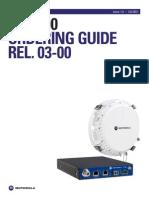 PTP 800 Order Guide Global