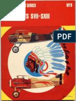 Osprey Aircam Aviation Series 09 - Spad Scouts SVII-SXIII