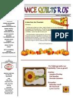Newsletter Nov 2013