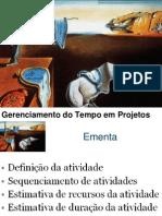 Gerenciamento Do Tempo Em Projetos CEG 2013