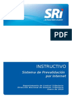 Instructivo Prevalidacion Internet