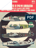 Osprey Aircam Aviation Series 11 - Consolodated B-24D-M Liberator in USAAF-RAF-RAAF-MLD-IAF-CzechAF & CNAF Service PB4-1-2 Privateer in USN-USMC
