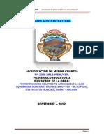 BASE A.M.C. Nº XXXX - 2012 - ALTO PERU -HUACHIS