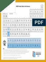 IUPAC Periodic Table-21Jan11