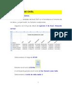 Ejercicio 3 de Excel