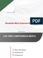 Presentacion Resultados Merco Bolivia 2013