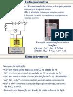 [Potencio & Conduto] Aula - Eletrogravimetria e Coulometria