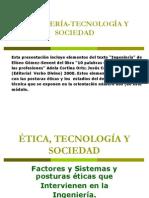 ÉTICA,TECNOLOGÍA Y SOCIEDAD