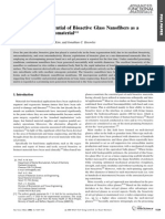 Bioglass nanofibers