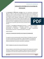 Metodología de planeación estratégica de la tecnología de información