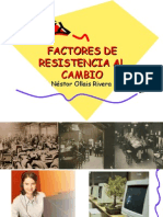 Factores de Resistencia al Cambio