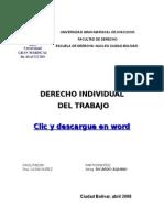 49832642 Derecho Individual Del Trabajo