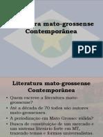 Literatura mato-grossense Contemporânea