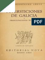 Rodriguez Lopez - Supersticiones de Galicia
