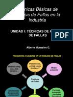 Unidad I Técnicas Análisis de Fallas