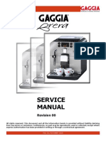 Service manual Gaggia Brera 03-12-09