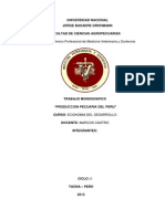 Monografia de Economia Malogrado Por Joselim y Corregido Por Deysi