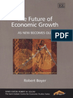 Robert Boyer - The Future of Economic Growth