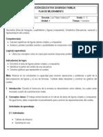 Plan de mejoramiento 4-3 (Geometría y Estadística - 4º periodo)