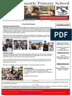 NFPS Newsletter Issue 17, 21st Nov, 2013