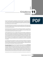 11° Capítulo - Criaderos Instalaciones