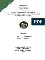 Proposal Tugas Akhir Six Sigma