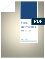 current issues analysis - social networking and the law