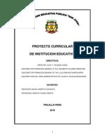 ProyectoCurricularInstitucionEducativa