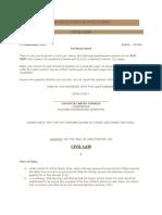 2010 Bar Examination Question Civil Law