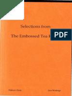 Embossed Tea Kettle (Selections) - Hakuin Zenji Yasen Kanna