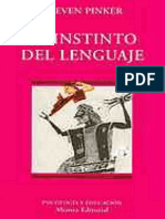 132135363 Pinker Steven El Instinto Del Lenguaje