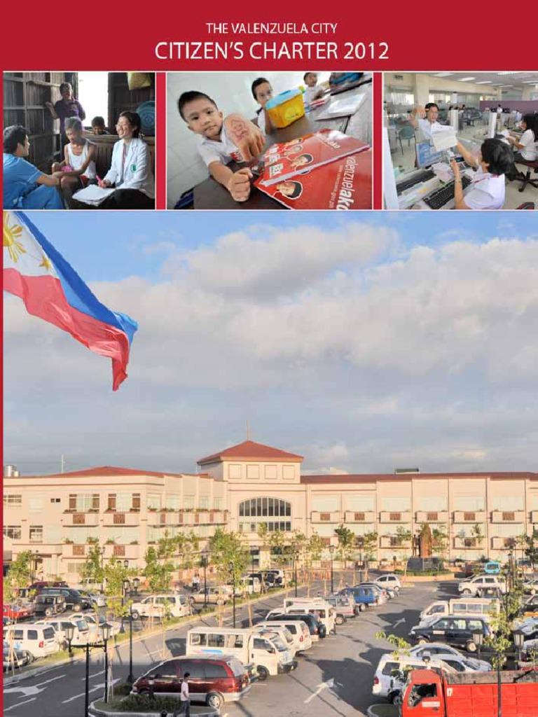Citizens Charter VALENZUELA | License | Business