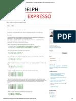 Delphi Expresso_ Rotinas matemáticas para manipulação numérica