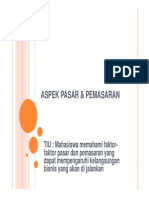 4&5_aspek Pasar & Pemasaran