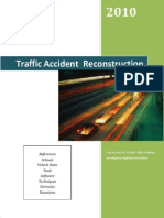Traffic Accident Reconstruction