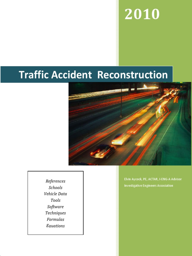 Traffic Accident Reconstruction | Acceleration | Force